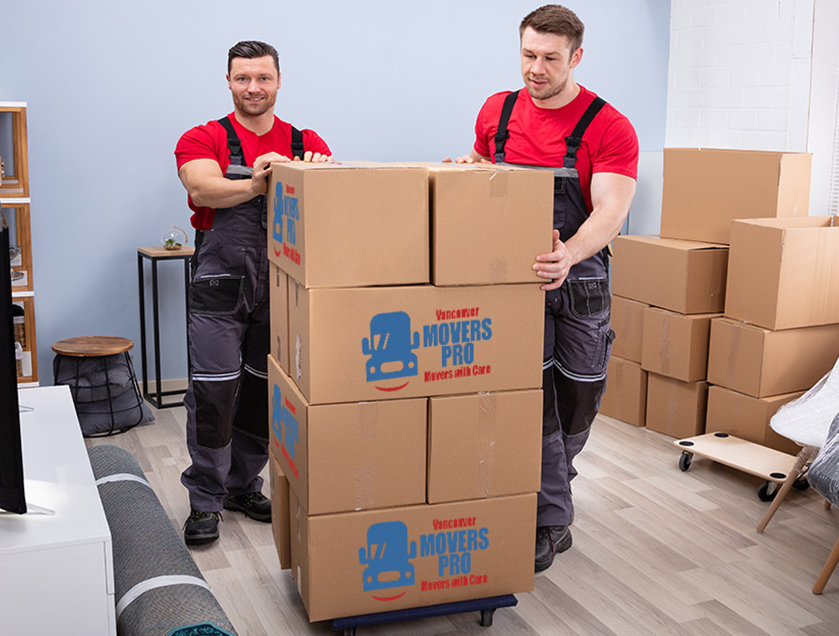 Vancouver office movers